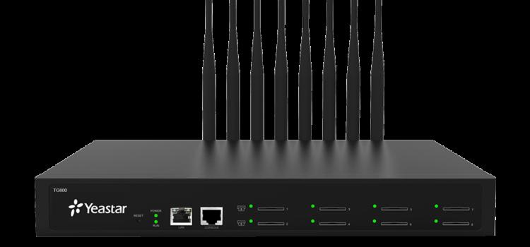Настройка подключения gsm шлюза Yeastar TG800 к FreePBX