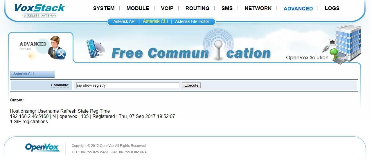 Change Ip Address Freepbx Cli