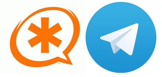 Сообщение в Telegram с номером звонящего при переадресации
